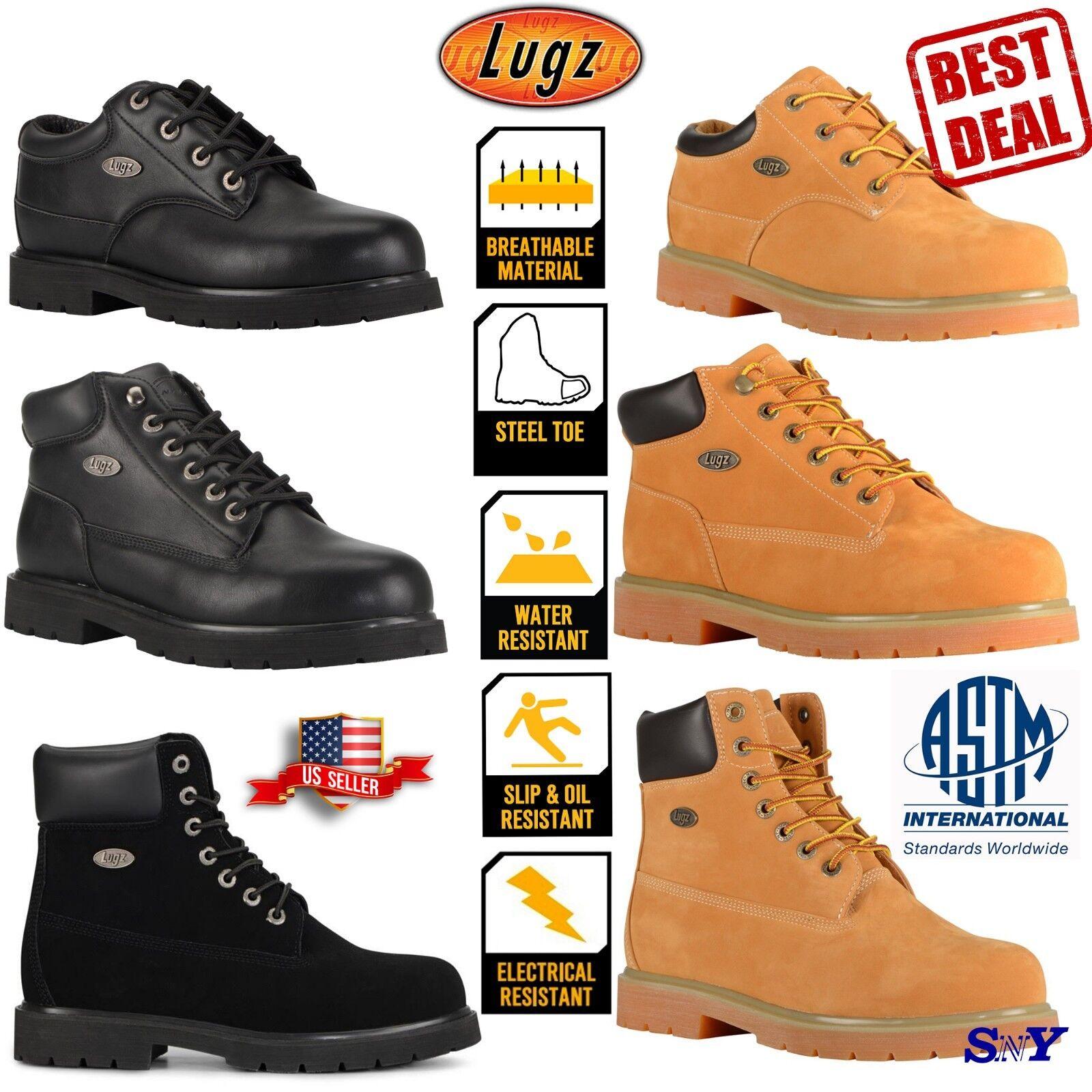 Steel Toe Work Boot  Water Slip Resistant Waterproof  Electrical resistant ASTM