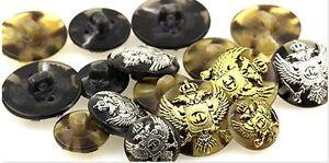 1-bouton-decoratif-ARMOIRIES-coudre-orne-pour-Vestes-et-pantalons