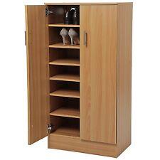Shoe Cabinet in legno armadio Rack 7 ripiani per 30 paia di scarpe di Archiviazione Faggio