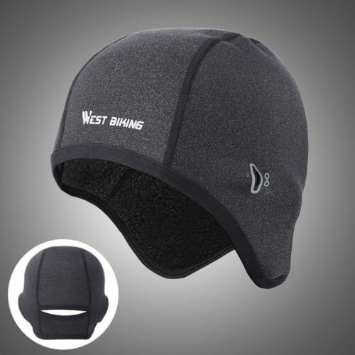 Under Helmet Winter Thermal Windproof Hat Outdoor Sports Cap Running Cycling New