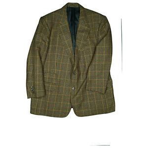 Burberrys-Mens-Check-Luxury-Jacket-Blazer-Jacket-Business-Suit-Size-27-XL-Check