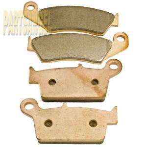 F+R Sintered Brake Pads For Honda CR125R CR250R CR500R 1987 88 89 90 91 1992