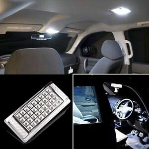 36 led bright white car vehicle roof ceiling dome interior light lamp 12v 5w 35 ebay. Black Bedroom Furniture Sets. Home Design Ideas