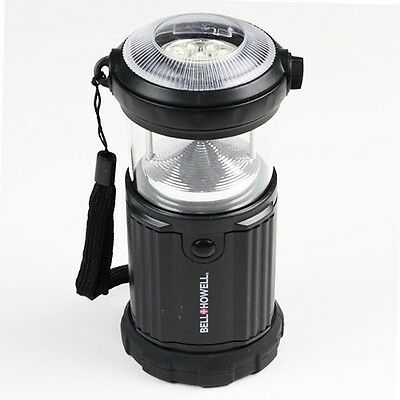 Bell And Howell™ 9 LED Indoor And Outdoor Flash Lantern - Black