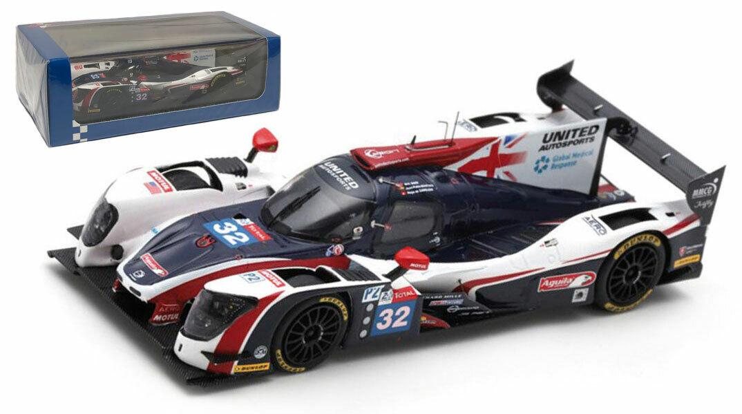SPARK S7017 LIGIER JS P217  32  United Autosports's 7th Le Mans 2018-échelle 1 43