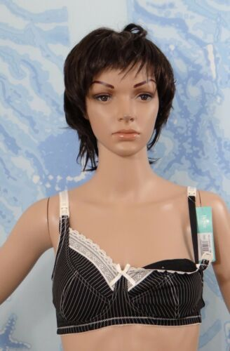 fili Nero crema allattamento Lingerie senza D Royce Or Lauren Ff senza Reggiseno fodera Stripe 30 v5gCawx4q
