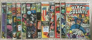 BRONZE-Lot-35-MARVEL-KEY-First-Issues-Black-Goliath-Champions-Evel-Knievel-32