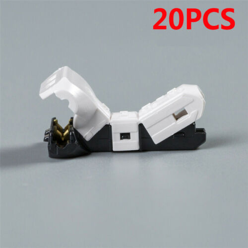 20 Pcs 23-20AWG 0.3-0.5SQmm Autos Electrical Wire Wiring Cable Quick T Connector