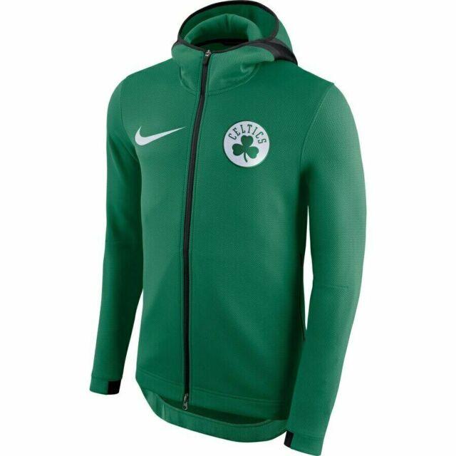 Nike NBA Boston Celtics Therma Flex Showtime Hoodie Jacket Green 940114 312