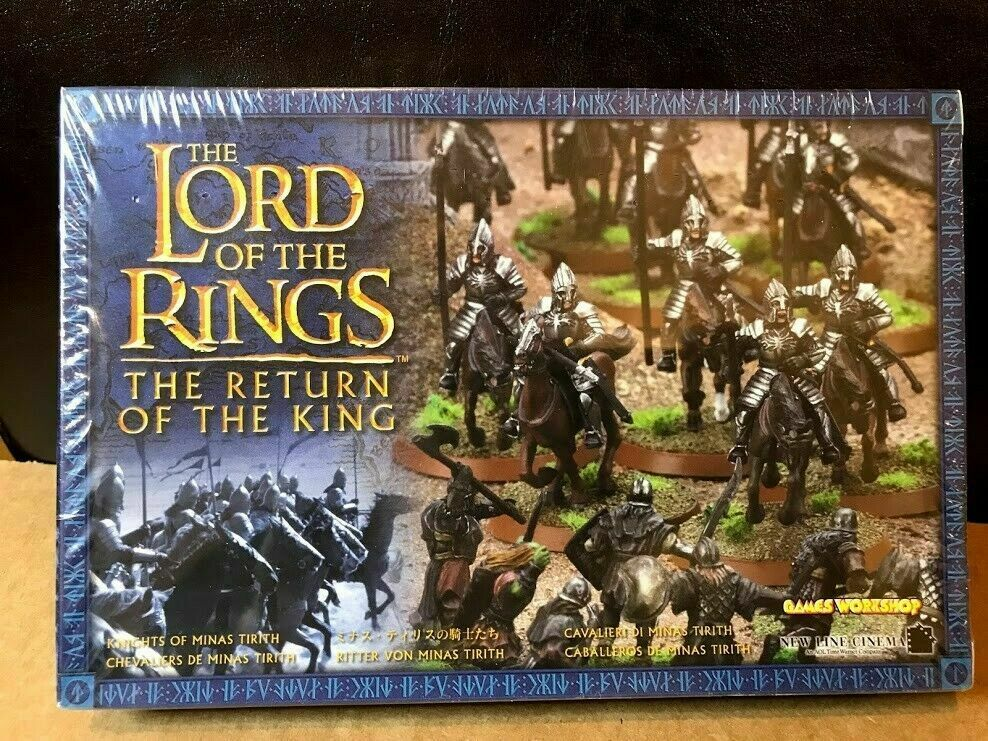 Games Workshop Lord of the Rings Knights of Minas Tirith (2003) Sealed In Box