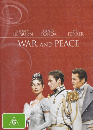 1 of 1 - [LIKE NEW] DVD: WAR AND PEACE: HEPBURN, FONDA, FERRER