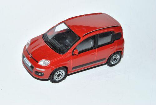 FIAT PANDA ROSSO 5 porte 3 generazione a partire dal 2012 tipo 319 1//43 Bburago Auto Modello...