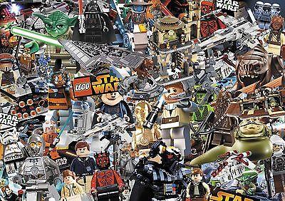 LEGO CITY STICKERBOMB SHEET - 500mm X 1400mm(height) COMIC/STARWARS/KIDS- COLOUR