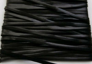 1-Metre-x-3mm-Black-Flat-Leather-Craft-Lace-Cord-Thonging