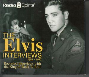 ELVIS PRESLEY The Elvis Interviews 5-DISC CD BOX SET 2004 Radio Spirits Talking