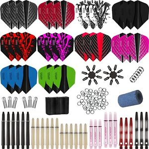 Harrows-Jumbo-Darts-Accessory-Pack-Variety-2-150-Piece-Stems-Flights-Accessories