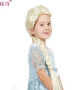 Image is loading Frozen-Princess-Elsa-Wig-Light-Blonde-Cosplay-Costume- 9fe19c2279d7