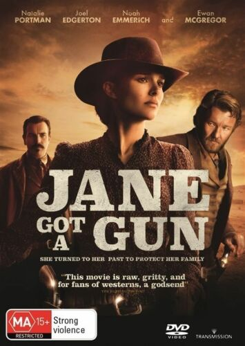 1 of 1 - Jane Got A Gun (Dvd) Drama Action Western Natalie Portman, Joel Edgerton Movie