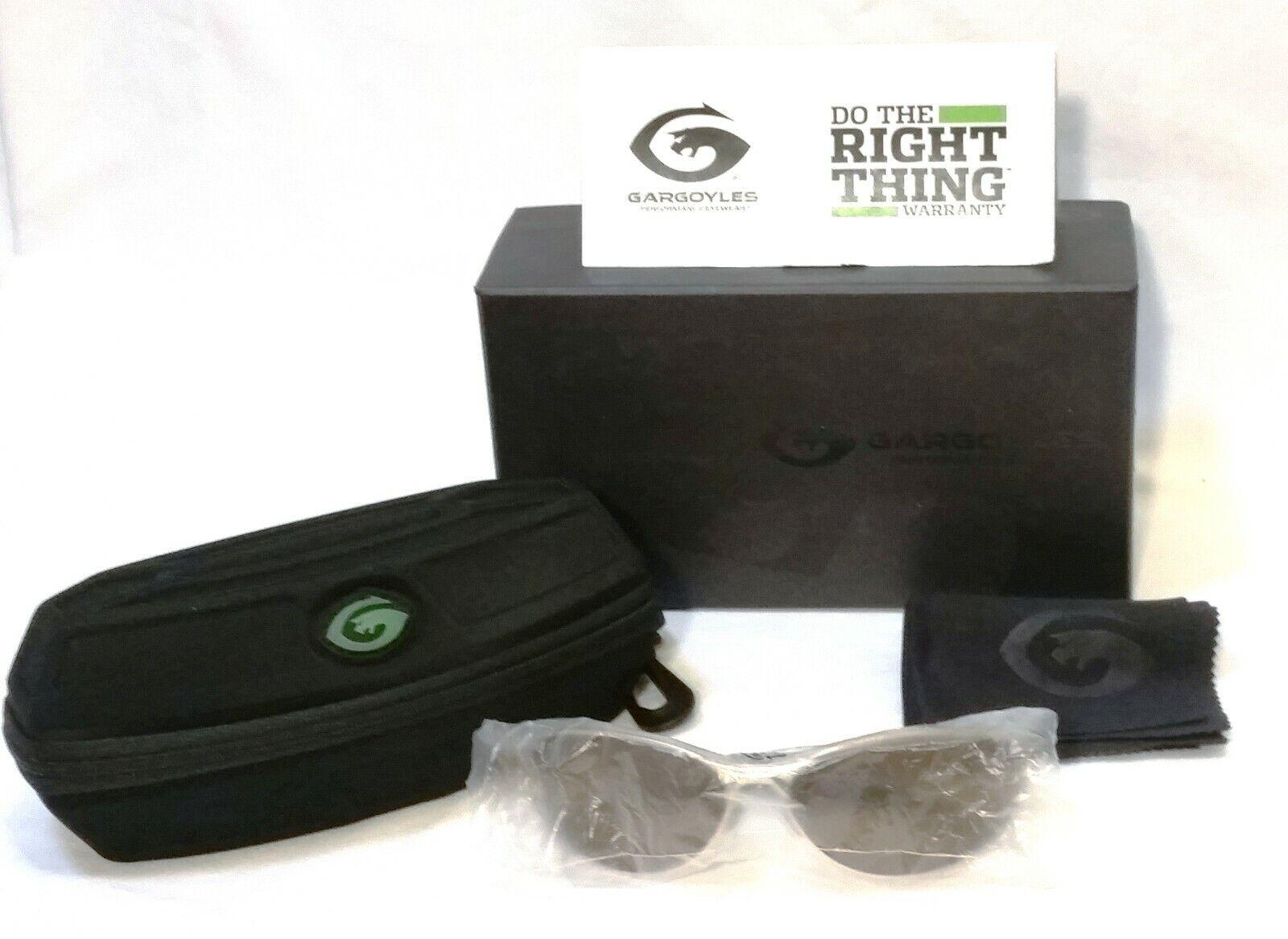 Gargoyles Outrider Sunglasses - Polarised + Case + box + polish cloth
