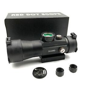 OPTICS-3-x-44-Tactical-Optic-Rifle-Sight-Riflescope-Hunting-Scope-11-22mm-Rail