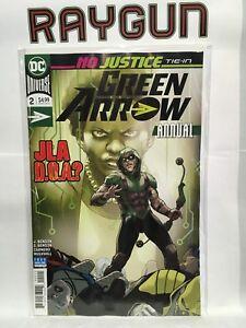 Green-Arrow-Vol-6-Rebirth-Jaehrliche-2-NM-Dc-Comics-Nein-Justice-Krawatte