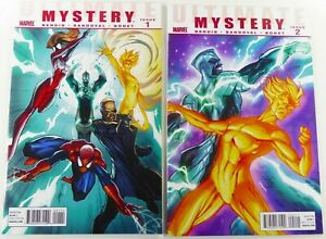 Marvel-ULTIMATE-MYSTERY-2010-1-2-CAMPBELL-COVER-SET-VF-NM-Ships-FREE