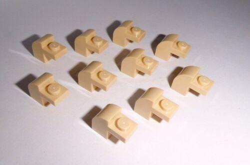 LEGO 10 pietre arco 1x2x1 1//3 in Tan da 10242 75059 10236 9516 8671 6091