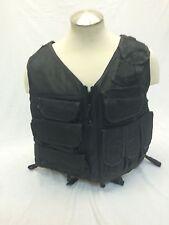 Eagle Industries TAC V 1 Assault Vest Black Old School Trim Tab  SEALs Large