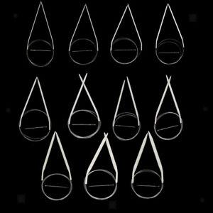 Lot-11-Tailles-Aiguilles-a-Tricoter-Circulaire-2-0-8-0mm