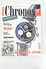 CHRONOS 2/2000 Lange & Söhne Vacheron Constantin Zenith Quinting