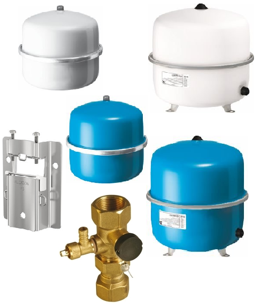 Membran-Ausdehnungsgef/äss Reflex N 35 Liter Betr.3 bar weiss EU-Ausf/ührung