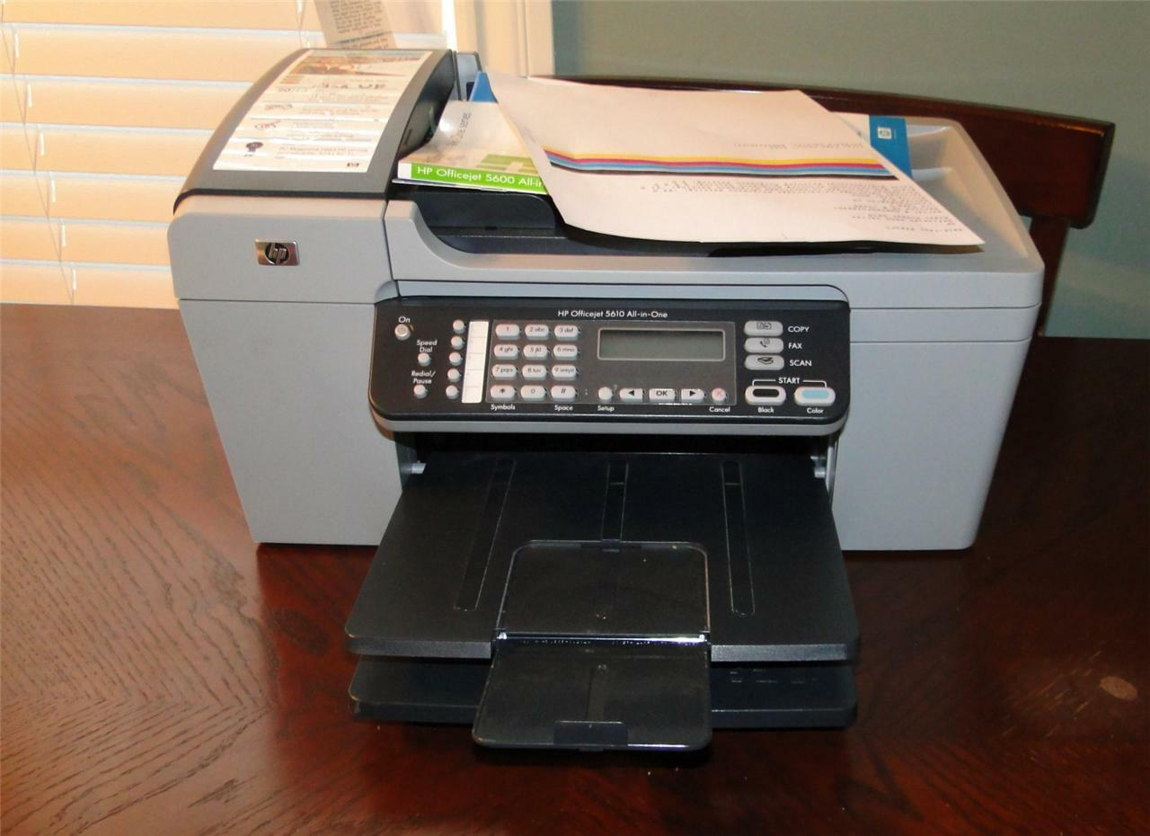 HP OFFICEJET 5610 ALL IN ONE PRINTER DRIVERS FOR MAC DOWNLOAD
