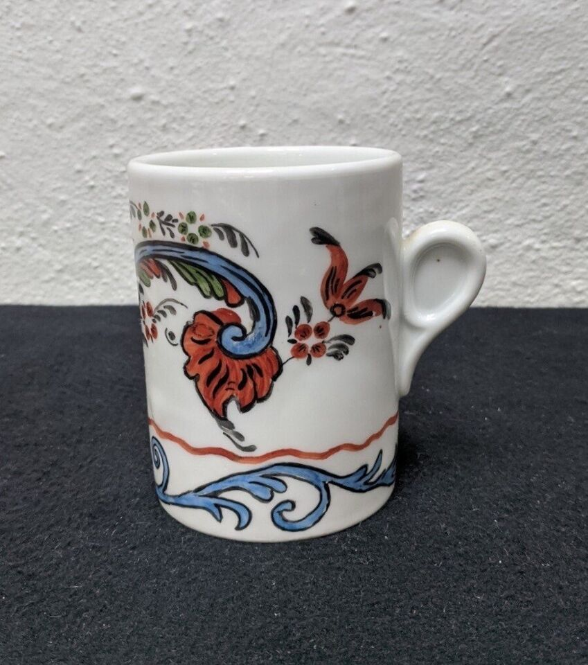 Porcelæn, Dekoreret krus, B.G