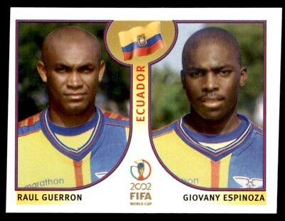 Panini World Cup Korea//Japan 2002 515 Guerron//Espinoza Ecuador No