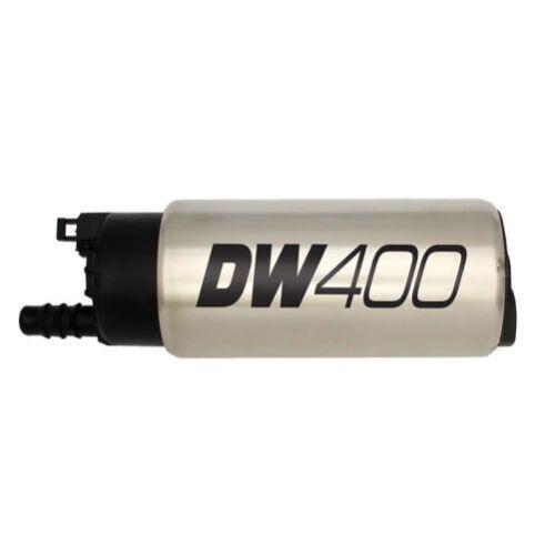 DeatschWerks 9-401-1046 DW400 In-Tank Fuel Pump w//9-1046 Install Kit For Mustang