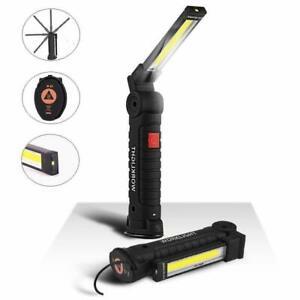 Magnetique-Led-Cob-Lampe-Baladeuse-Travail-Lampe-de-Poche-Lumiere-Rechargeable