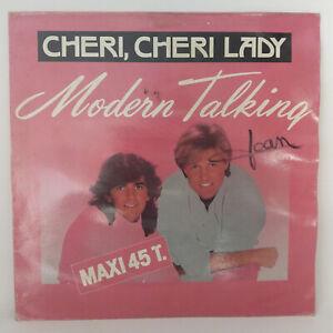 Modern-Talking-Cheri-Cheri-Lady-Vinyl-12-034-Maxi-Single-45-RPM-1985