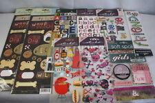 Lot of Scrapbooking Stickers Ek Sucess Making Memories Daisy Hill Soft Spoke