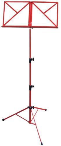 Höhe von 50-124cm NOTENAUFLAGE NOTENSTÄNDER TASCHE blau, rot, schwarz