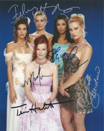 Signed Preprint DESPERATE HOUSEWIVES Autographed CAST Photo