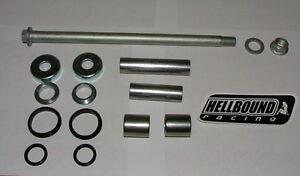 New Honda 400EX 400 EX SWINGARM SLEEVE SEALS BEARINGS and pivot bolt set KIT