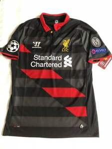reputable site 41aa7 2049f Details about 2014/15 Liverpool FC Warrior #8 Gerrard UCL Veriosn Soccer  Jersey WSTM408