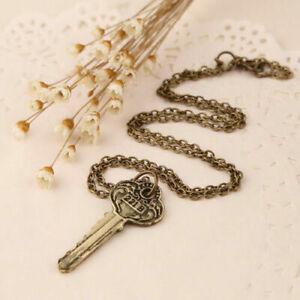 Vintage-Sherlock-Holmes-Schluessel-Anhaenger-Halskette-Geschenk