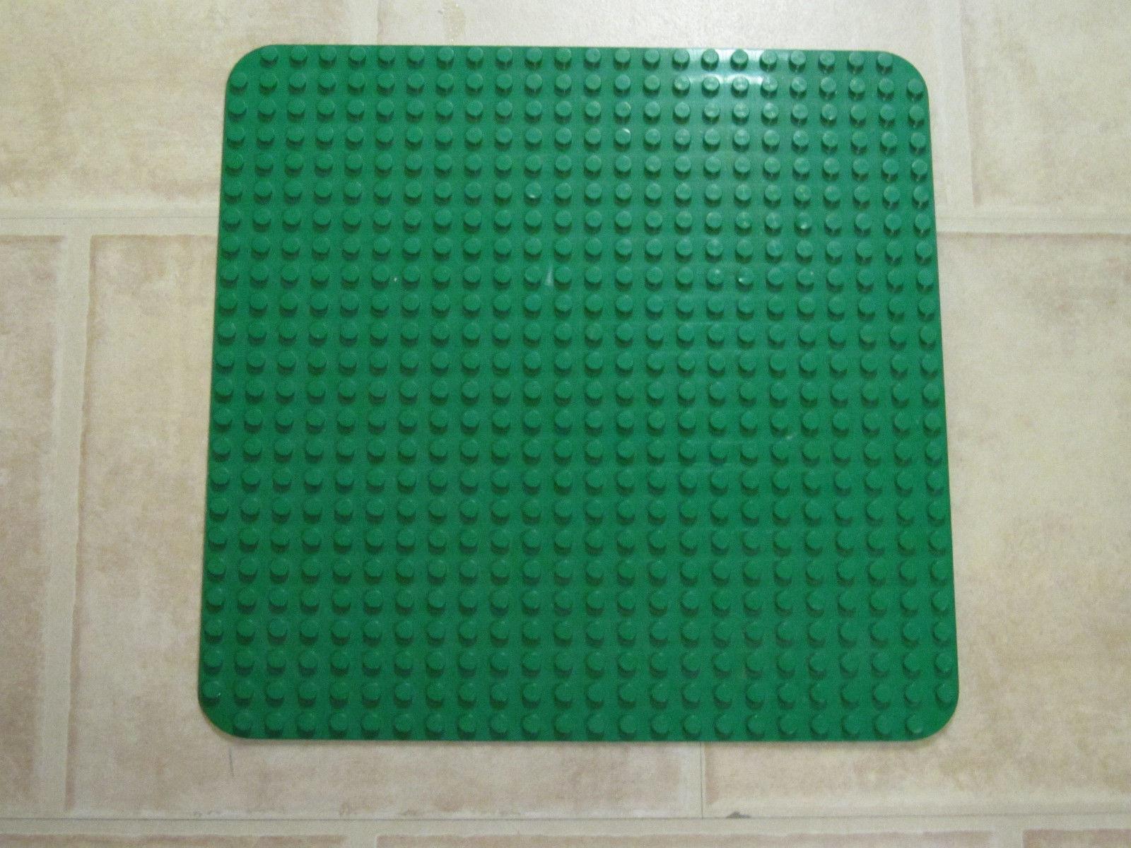 LEGO DUPLO Große Grundplatte Bauplatte Platte 38 x 38 cm Grün