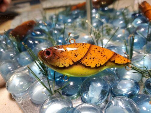 NEW LURE Custom painted lipless crankbait #144 Pumpkins seed