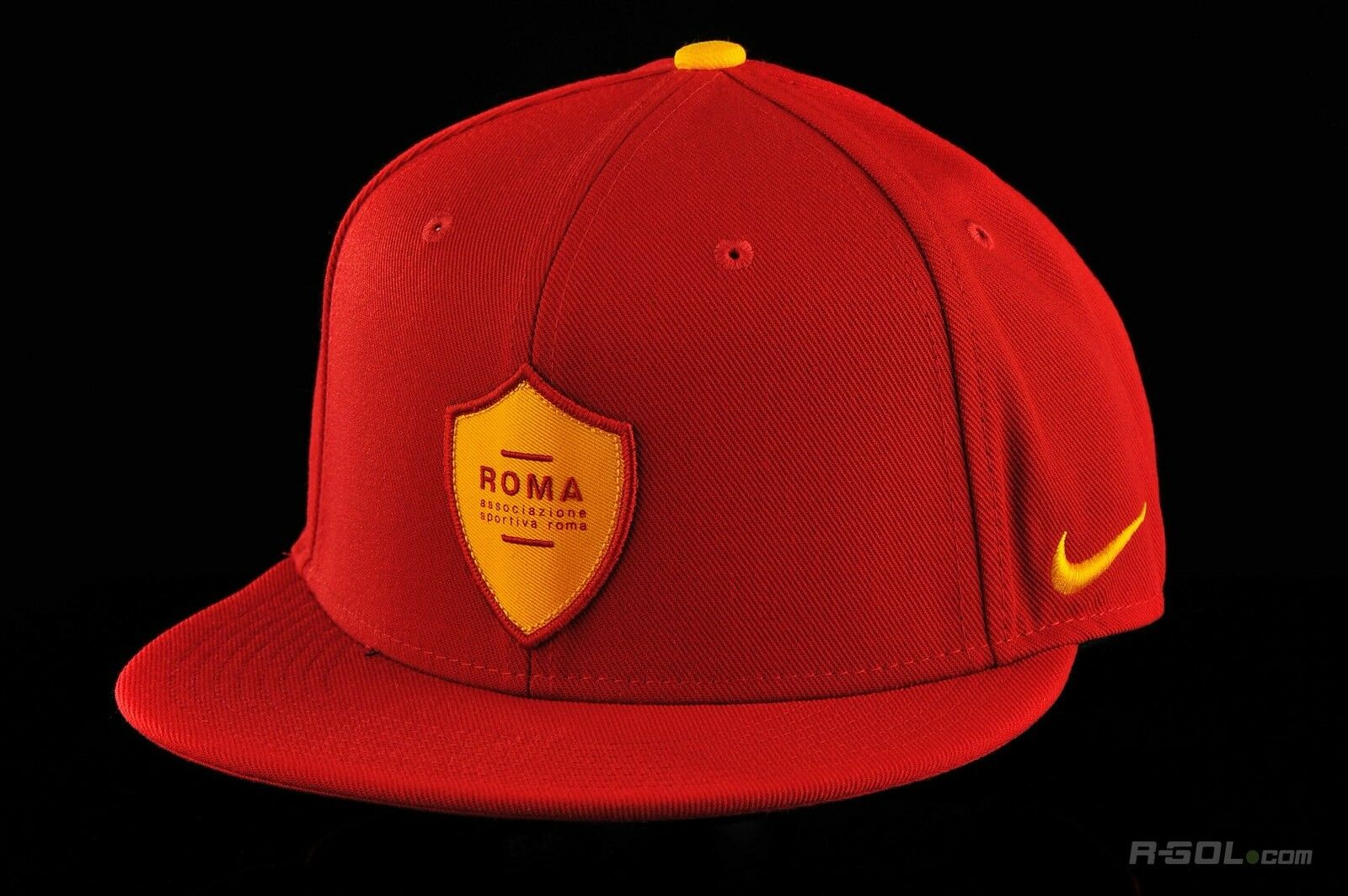 Nike as Roma Football Soccer Snapback Squad Cap Hat for sale online ... b6af417166c