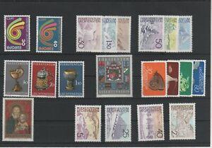 Liechtenstein-Vintage-Yearset-1973-Neuf-MNH-Complet-Plus-Sh-Boutique