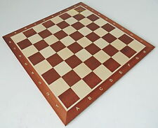 BRAND NEW TOURNAMENT NR 6 WOODEN CHESS BOARD 54cm FACTORY SECONDS TO CLEAR