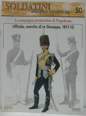 """Bello Soldatini Napoleonici In Piombo """"ufficiale, Esercito Di Re Giuseppe, 1811-13"""" Fa"""