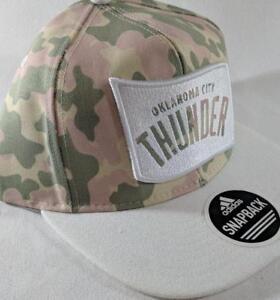 ecf5e162 LZ Adidas Adult One Size OKC Thunder NBA Basketball Baseball Hat Cap ...